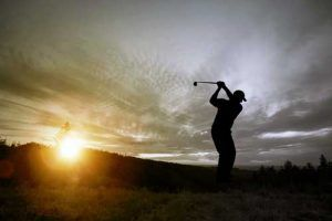 golfer at sunset | Tiger Woods Arrest Highlights How Damaging DUI Accusations Can Be